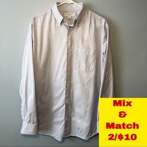 Banana Republic Fitted Button Down Shirt Size L
